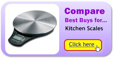 Compare the best kitchen scales