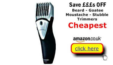 Beard Trimmers are probably cheapest here
