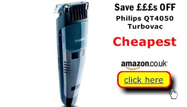 best buys for you uk compare prices philips qt4050 turbovac uk. Black Bedroom Furniture Sets. Home Design Ideas