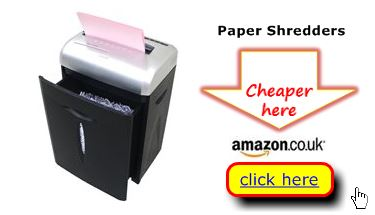compare paper shredders home use updated 2013 uk - Paper Shredders Ratings
