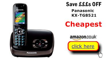 Panasonic KX-TG8521 series cheapest here