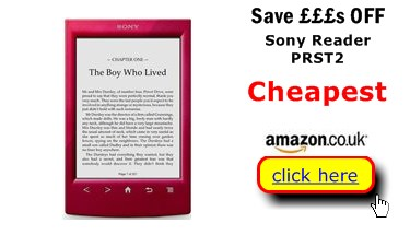 Sony Reader PRST2 Cheaper Here