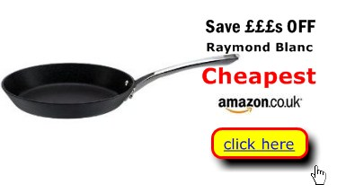 Raymond Blanc professional frying pans cheapest here