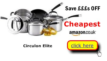 Circulon Elite cookware at wise buy prices here