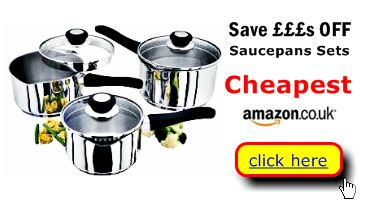 Saucepans are cheapest here