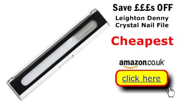 Leighton Denny Crystal Nail File Cheapest Here