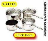 Kitchencraft Clearview cookware